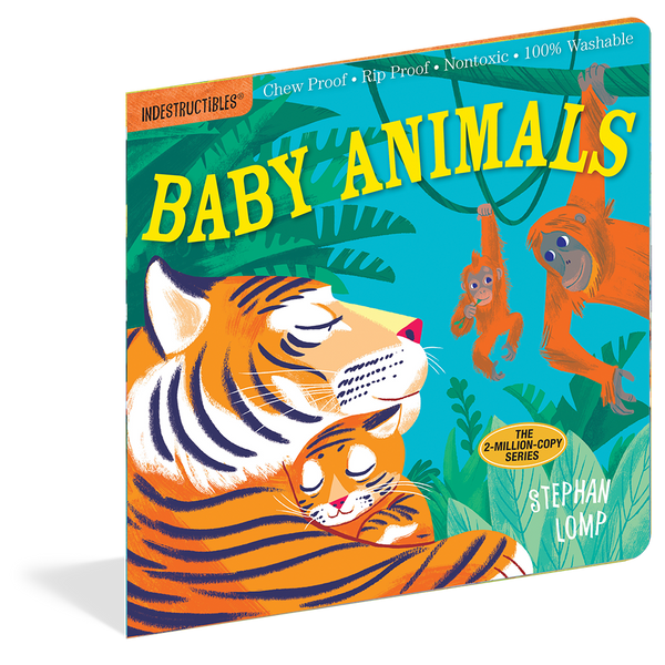 Indestructibles Books- Baby Animals