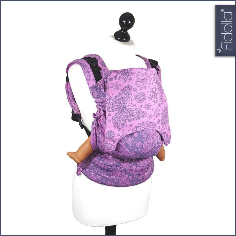 Buckle Carrier - Fidella Fusion Full Buckle Carrier- Iced Butterfly Violet
