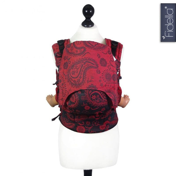 Buckle Carrier - Fidella Fusion Full Buckle Carrier- Persian Paisley Hot Lava