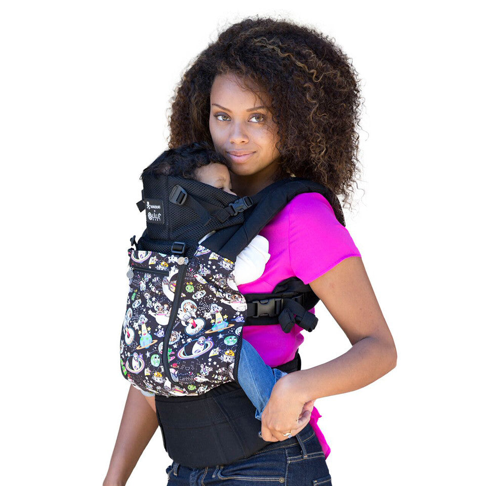 Buckle Carrier - Líllébaby COMPLETE™ All Seasons- Space Place- Black