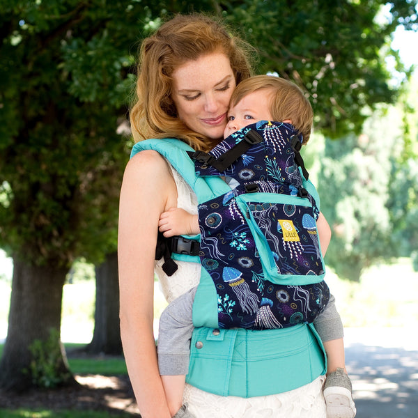 Buckle Carrier - Líllébaby COMPLETE Original- Blue Lagoon