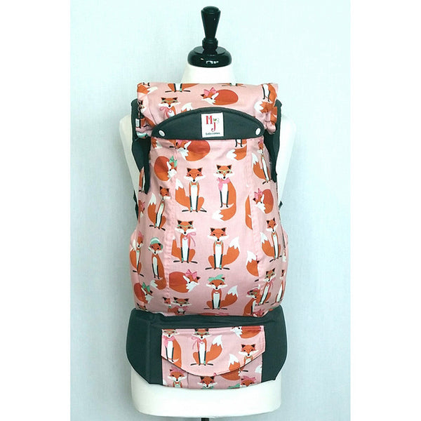 Buckle Carrier - MJ Baby Carriers- Fabulous Foxes