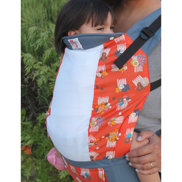 Buckle Carrier - MJ Baby Carriers- Good Hair Day On Fresh Mesh