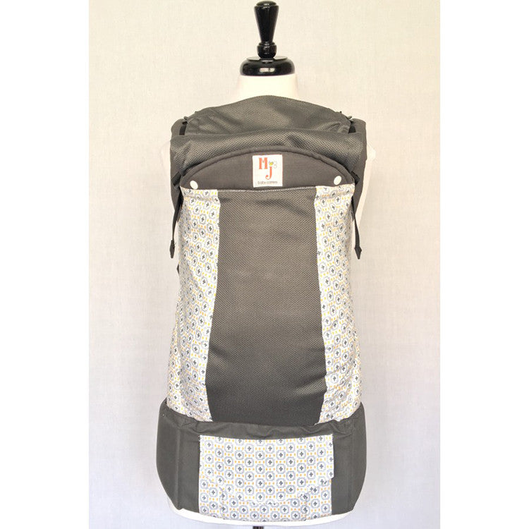 Buckle Carrier - MJ Baby Carriers- Great Addition On Graphite Fresh Mesh