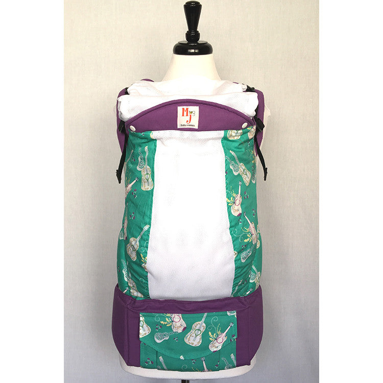Buckle Carrier - MJ Baby Carriers- Love Song On Fresh Mesh