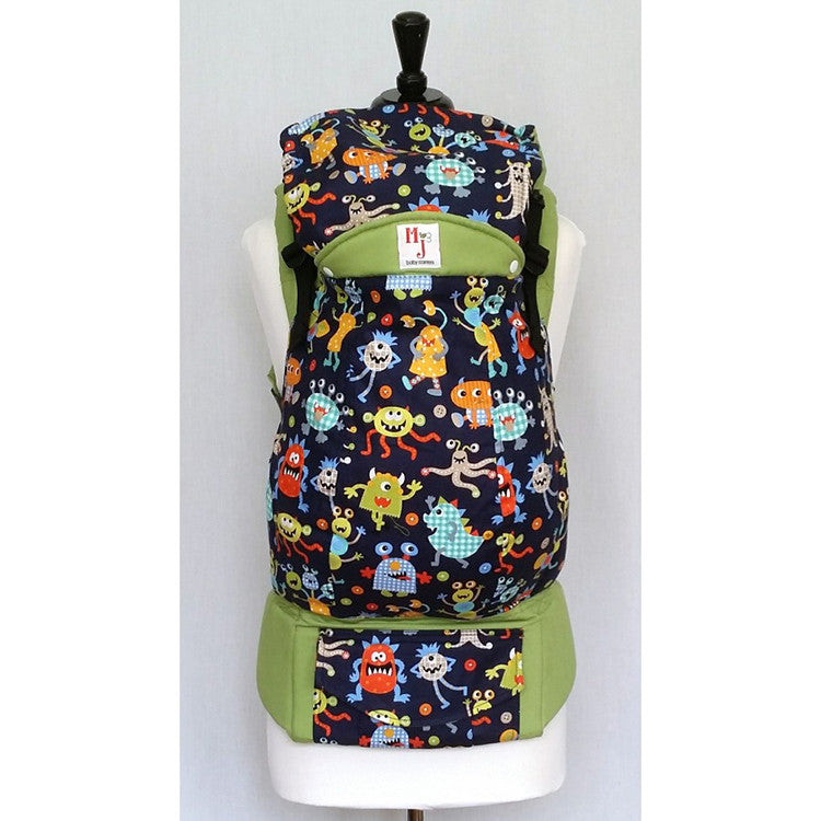 Buckle Carrier - MJ Baby Carriers- Monsters