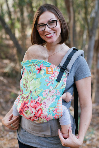 Buckle Carrier - Tula Ergonomic Carrier- Bliss Bouquet