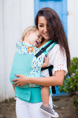 Buckle Carrier - Tula Ergonomic Carrier- Coast Fractal