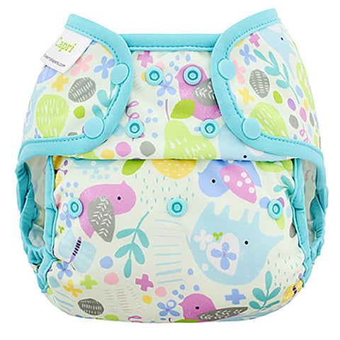 Blueberry Capri Diaper Covers- Snap
