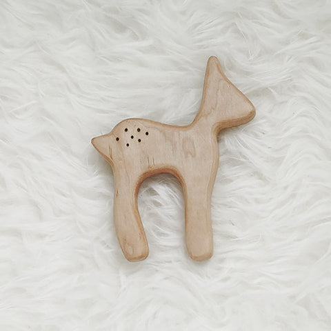 Clover and Birch Deer Teether