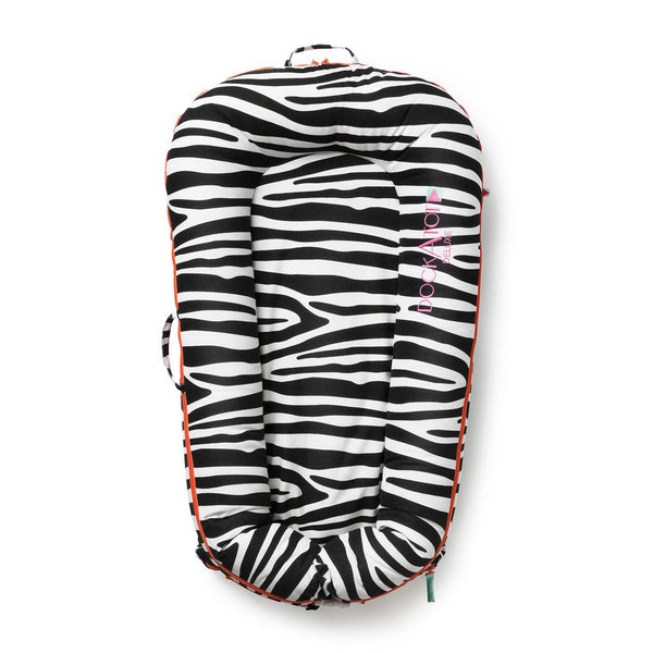 DockATot Deluxe Dock- So Safari (Zebra)