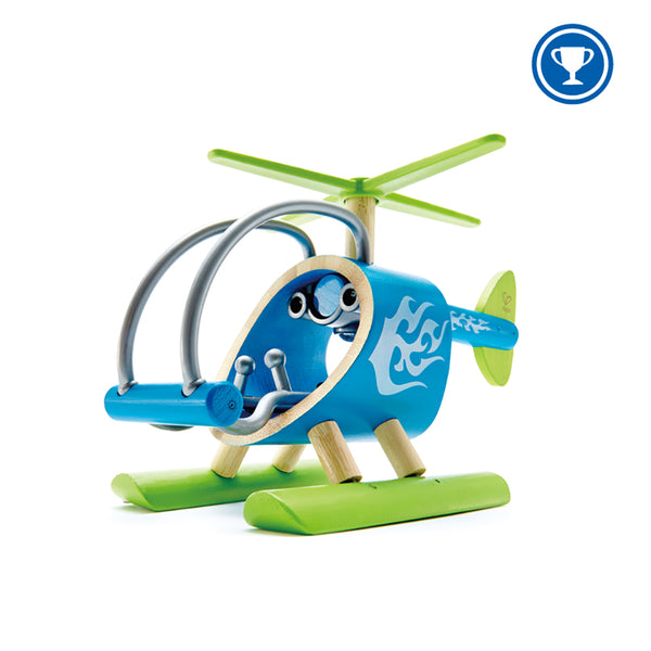 Hape Bamboo Vehicle- e-Copter