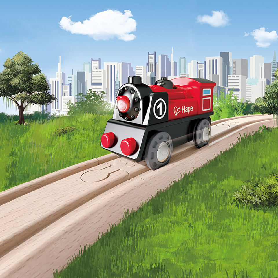 Hape Battery Powered Engine No. 1 Train