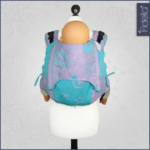 Fidella Onbuhimo Back Carrier- Outer Space Candy