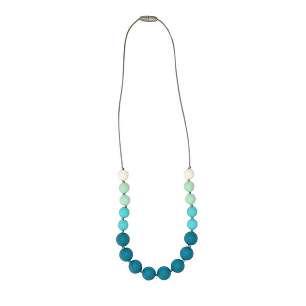Itzy Ritzy Teething Happens Chewable Mom Jewelry - Petite Strand Necklace