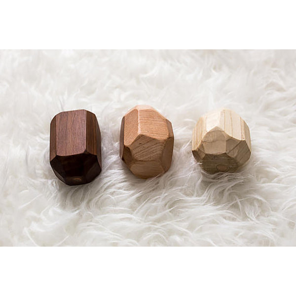 Clover and Birch Geode Rattle- 3-piece set