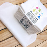 Marley's Monsters ORGANIC BAMBOO FLANNEL CLOTH WIPES- 12-pack