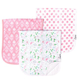 Copper Pearl Premium Burp Cloths- 3 pack