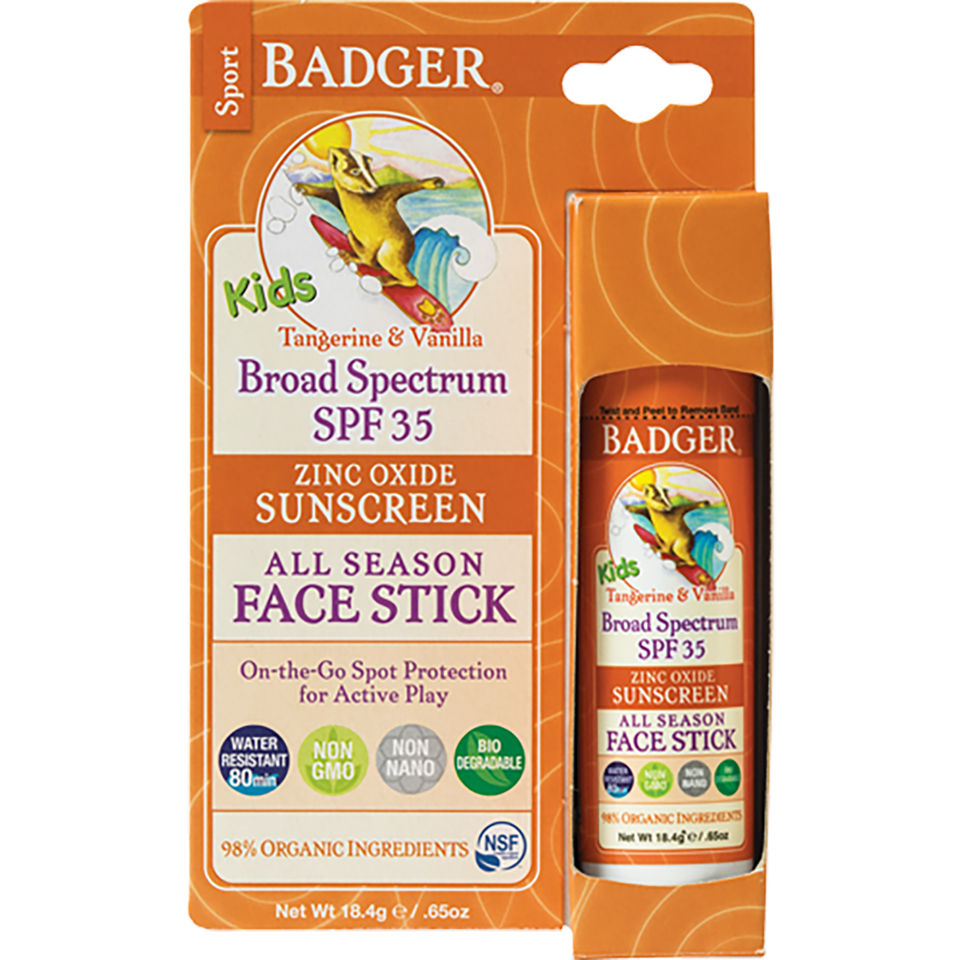 Badger SPF 35 KIDS Sport Sunscreen Stick