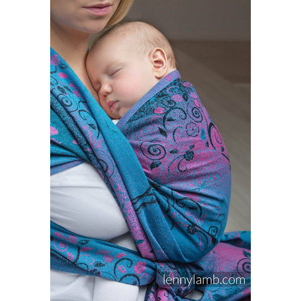 Lenny Lamb Wrap- Dream Tree Blue And Pink