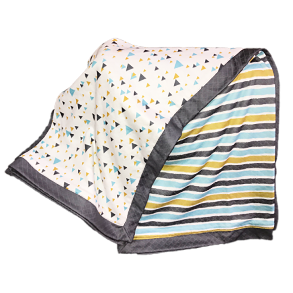 Smart Bottoms Snuggle Blanket- Modern Geo