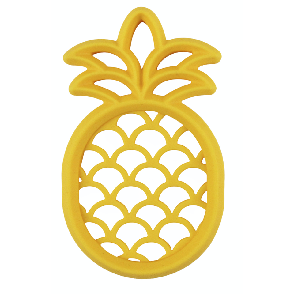 Itzy Ritzy Silicone Teether- Pineapple