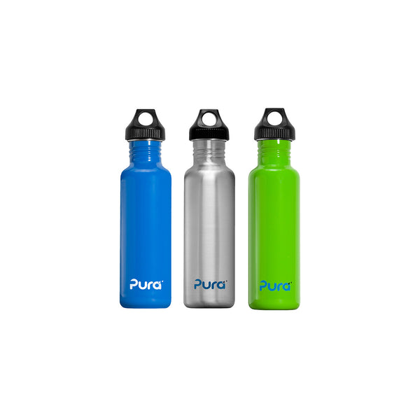 Pura 0.8L Stainless Steel Water Bottle