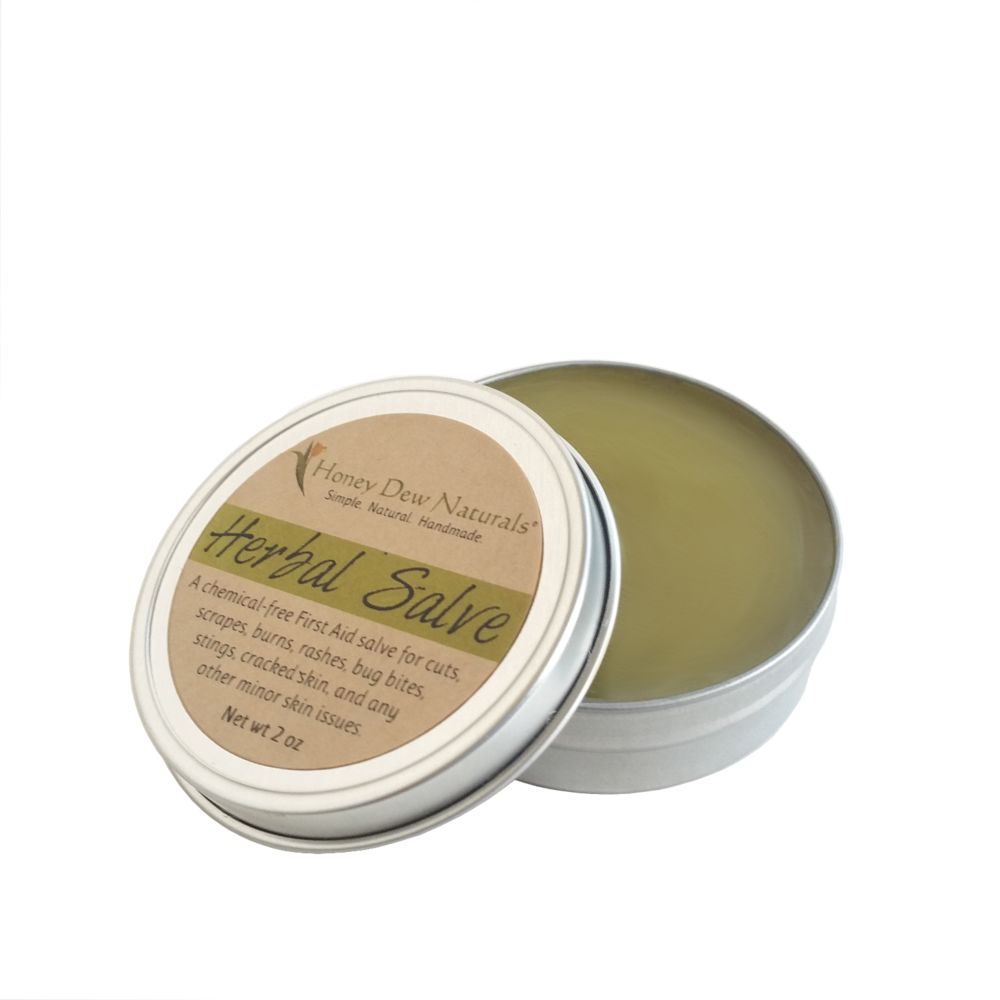 Honey Dew Naturals Herbal First Aid Salve