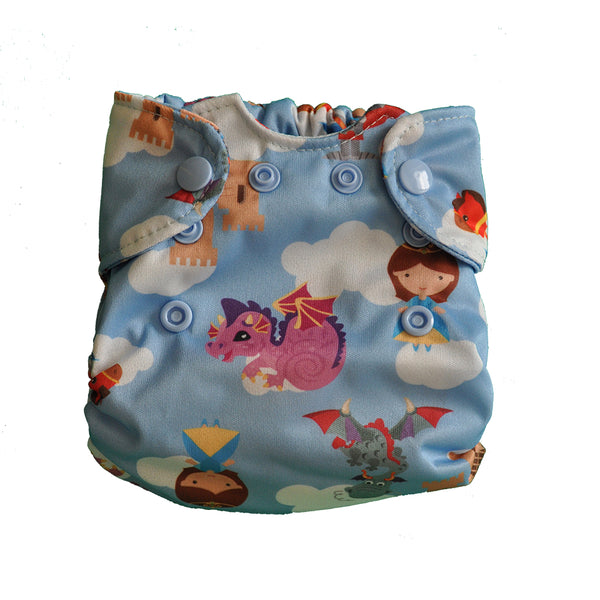 Smart Bottoms Born Smart Newborn Diaper- Once Upon A Time- Exclusive