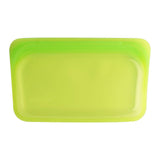 Stasher Reusable Silicone Snack Bag - Lime