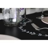 Jaq Jaq Bird Chalk Board Reusable Table Runner