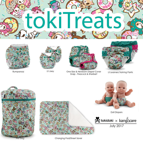Kanga Care x tokidoki tokiTreats Collection