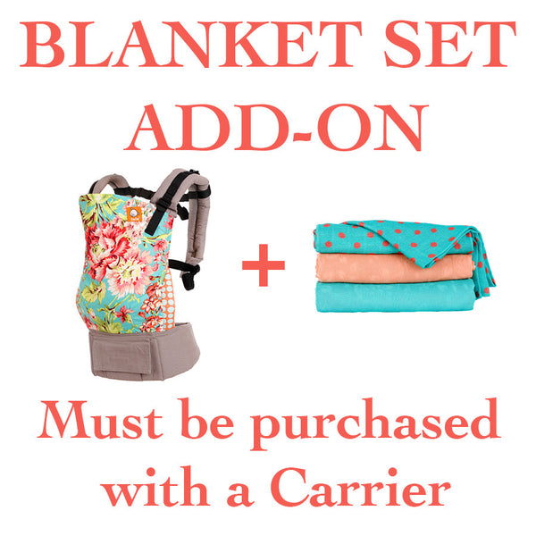 Tula Blanket Set Add-On- MUST BE PURCHASED WITH A CARRIER
