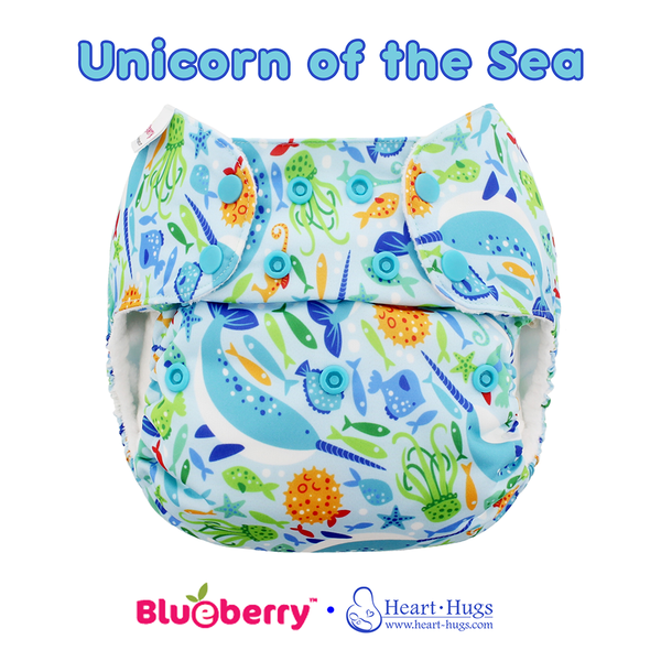 Blueberry Unicorn of the Sea- Exclusive