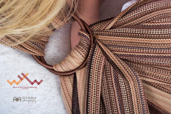 West 4th Wraps Handwoven- Earth
