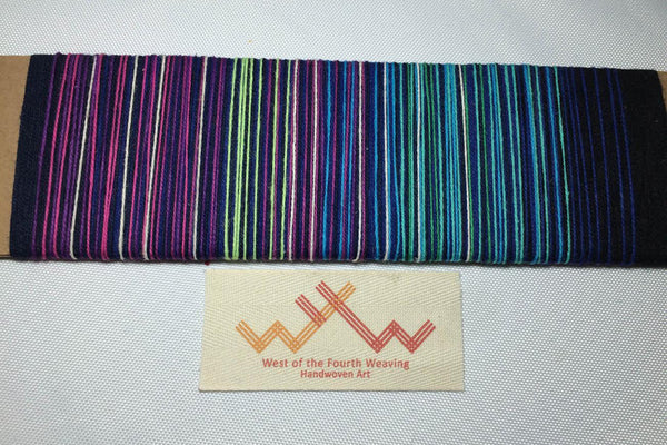 West 4th Wraps Handwoven- Northern Lights Exclusive- PREORDER