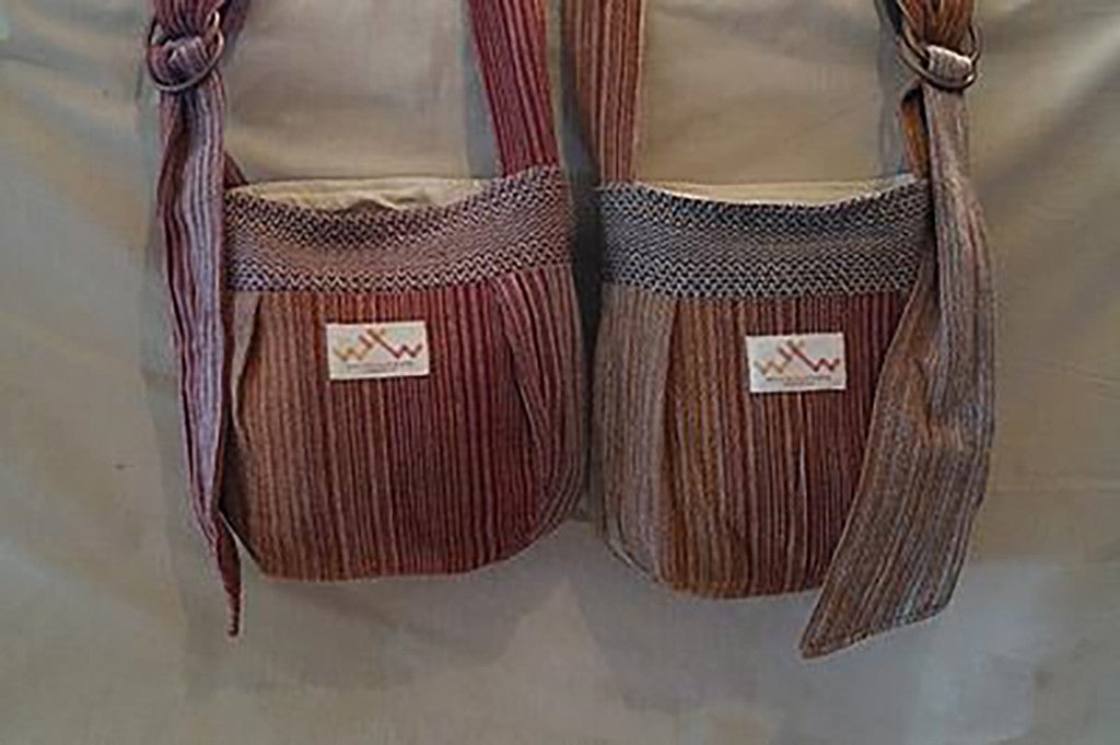 West Of The 4th Weaving- Signature Handwoven Bag