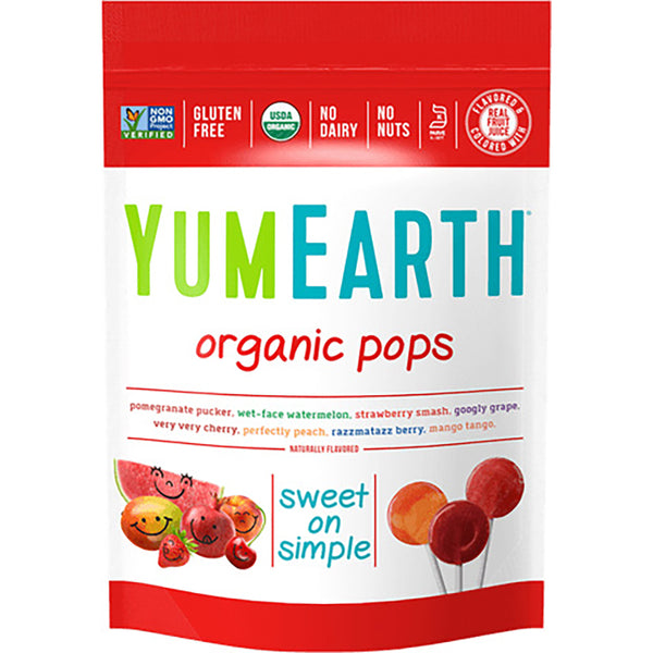 YumEarth Organic Lollipops- 4.2 oz (20 pops)