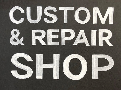 Treason Toting Company custom bag and repair shop