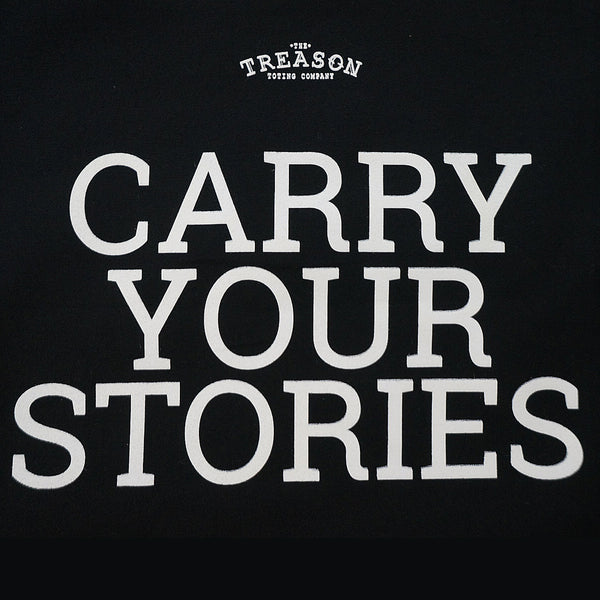 Carry Your Stories - Graphic Tote