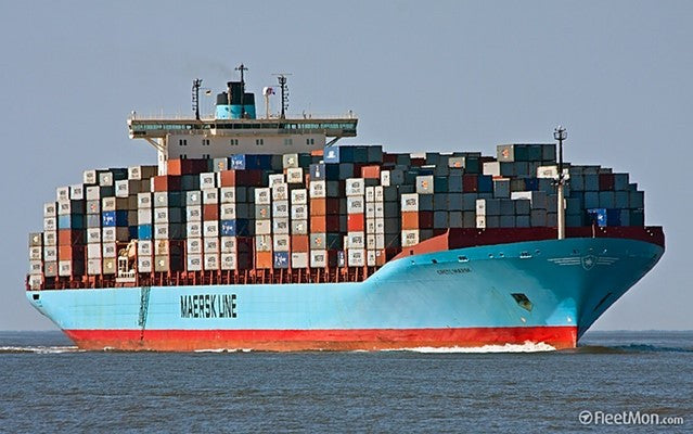 Fly Traps Shipping on Grete Maersk!
