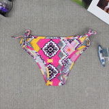 HOT CUTE PRINT TOTEM KNOT TWO PIECE BIKINIS