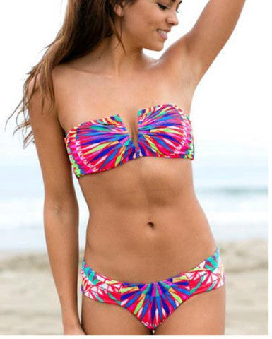 HOT COLORFUL V BIKINIS