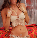 HOT WOVEN TASSEL TWO PIECE BIKINI