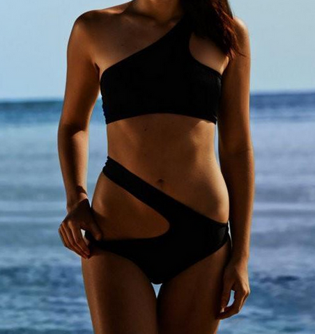 HOT BANDAGE ONE PIECE BIKINI SUIT