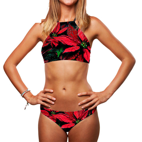Maple leaf bikini