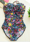HOT ONE PIECE STRAPLESS SHOW BLDY BIKINI SWIMWEAR