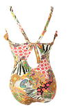 HOT COLORFUL TOTEM PRINT ONE PIECE BIKINIS