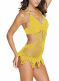 HOT WOVEN ONE PIECE BIKINI