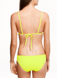 HOT PURE COLOR STRAPS TWO PIECE BIKINIS